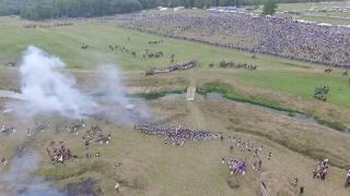 Бородино. Реконструкция сражения 1812 года. часть 1