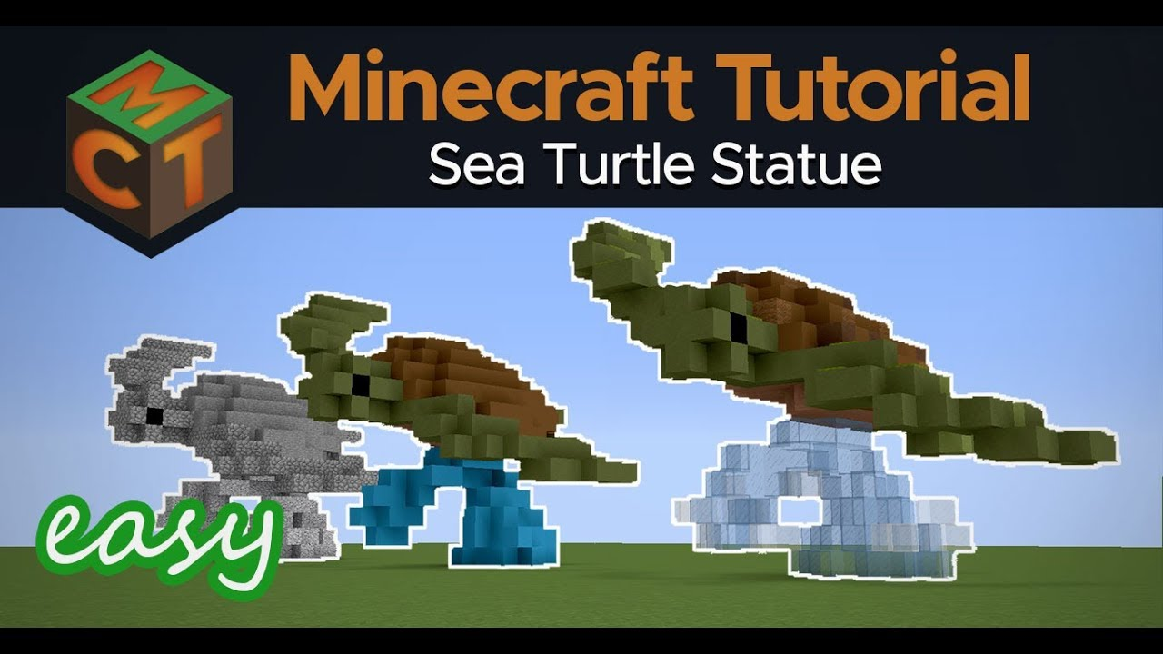 How to Build a Sea Turtle in Minecraft