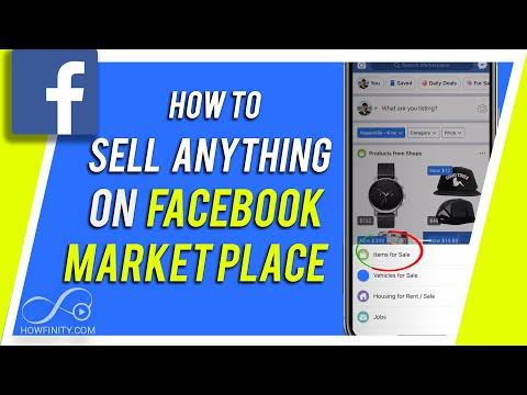 Comment vendre sur Facebook Marketplace
