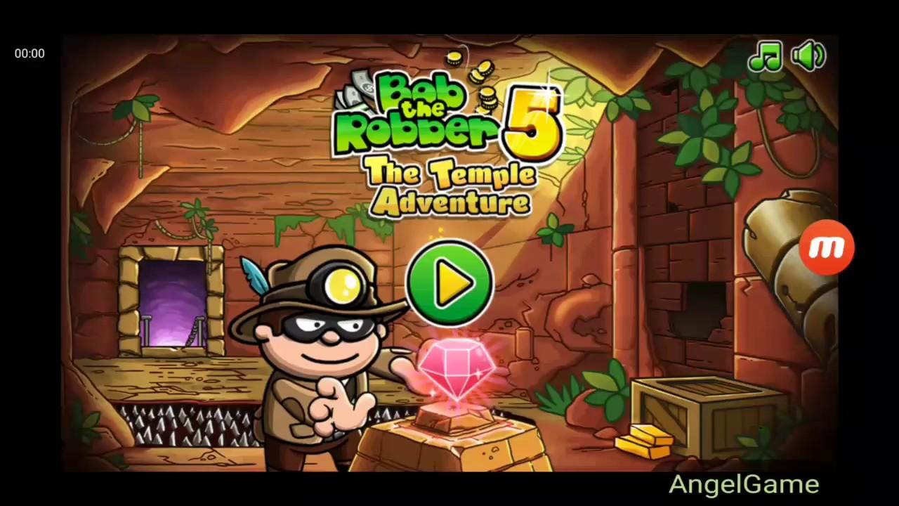 Robber Bob 5 Level 1 10 Walkthrough Youtube