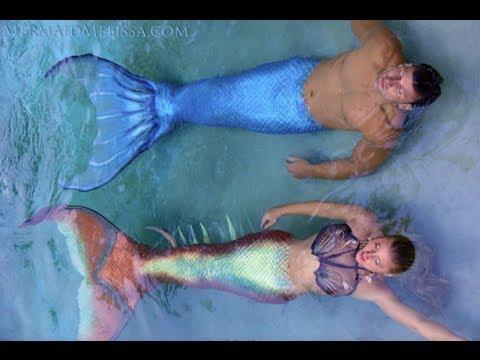and merman Mermaid