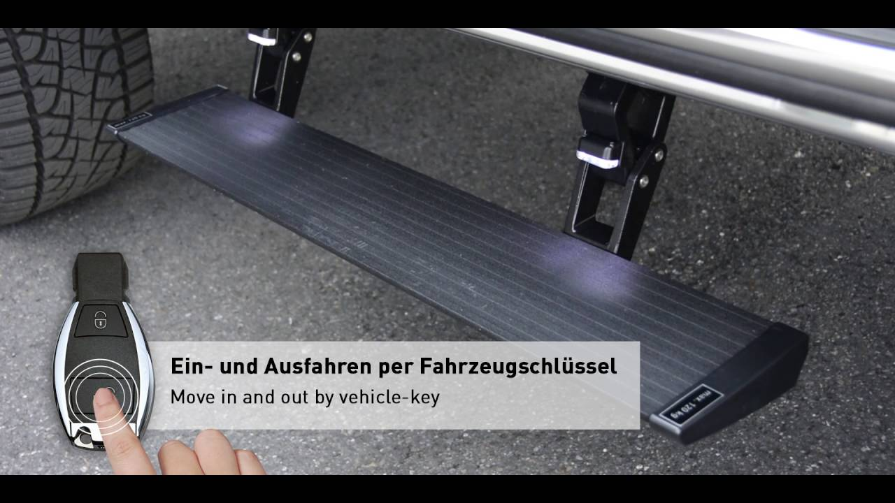 G Electric Brabus Electric Step For G 4x4a2 Youtube