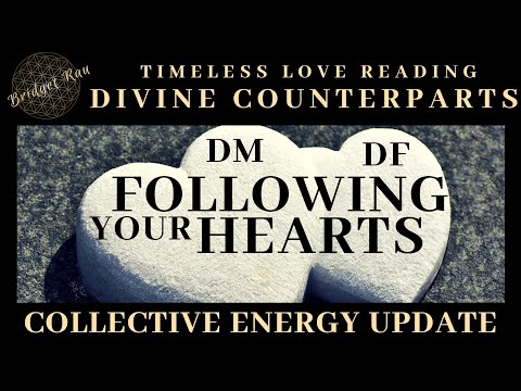 Following Your Hearts.. Twin Flame Soul Mate Reading