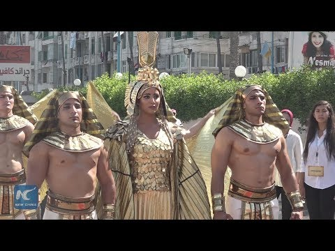 Egypt's Alexandria hosts Cleopatra-themed celebration