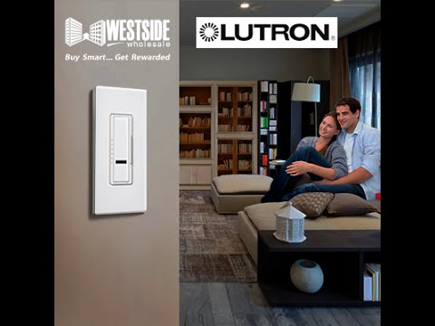 Lutron Dimmer 3 Way Switch Westside Wholesale Com Youtube