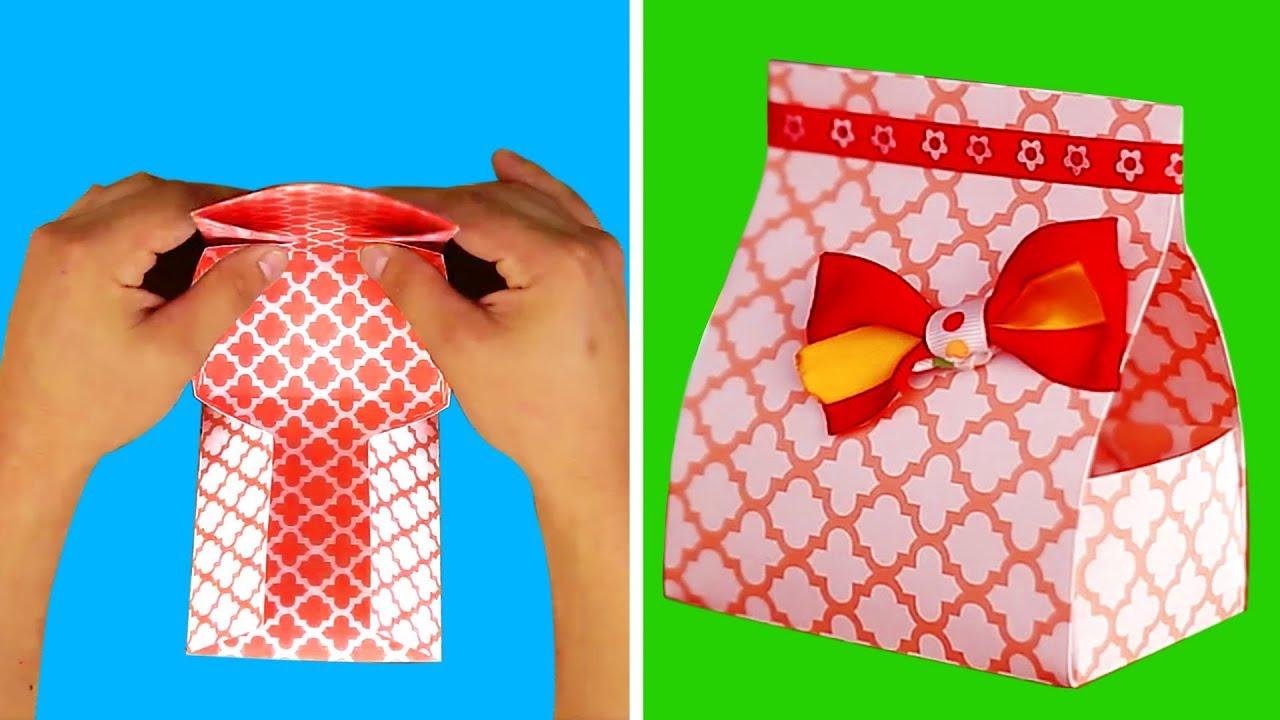11 DIY PAPER BOX IDEAS