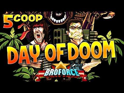 Fanta et Bob dans BroForce - Ep.5: DAY OF DOOM ! poster