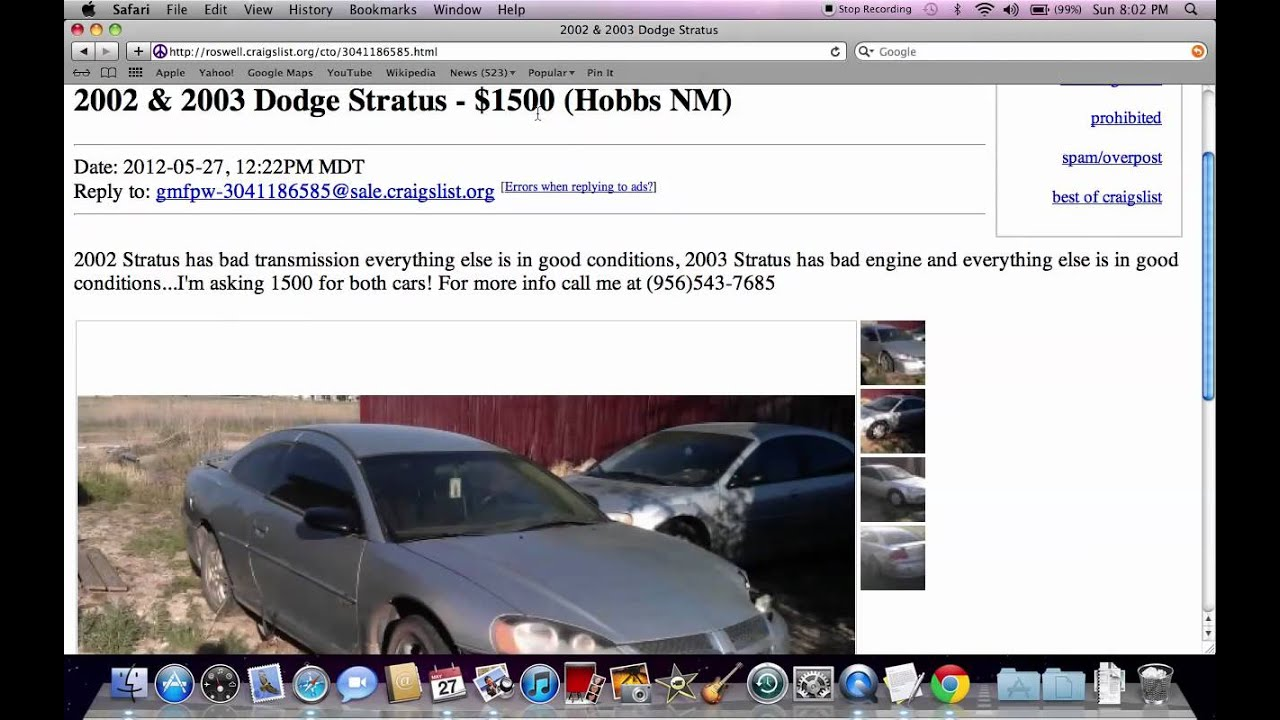 Craigslist Carlsbad NM - Used Cars and Trucks Under $2500 Easy to Find in  2012
