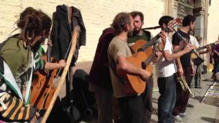 Grupo de street reggae en Granada