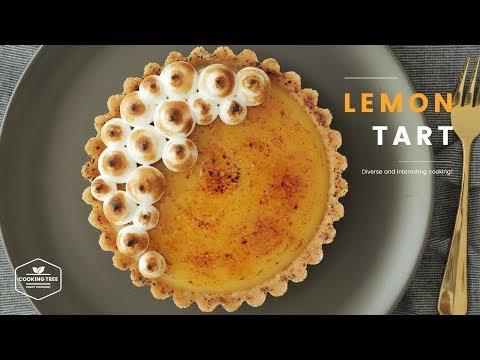 상큼한 노오븐~ 레몬 타르트 만들기 : No-Bake Lemon tart Recipe - Cooking tree 쿠킹트리*Cooking ASMR