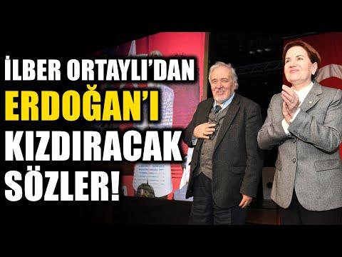 İlber Ortaylı 'dan Erdoğan 'ı Kızdıracak Sözler!