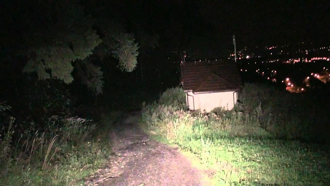 3000 Lumen Bike Lights Test 6 Led Cree Xm L Youtube