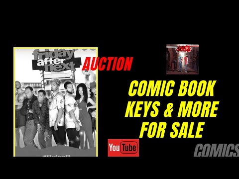 FRIDAY NIGHT AUCTION W/CHINOCOMICS&MORE! || KEYS AND FIRST APPEARANCES || $2 DOLLAR BOOKS