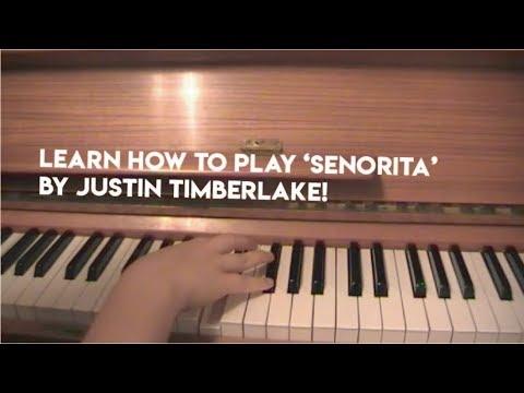 Justin Timberlake Senorita Riff Tutorial Youtube