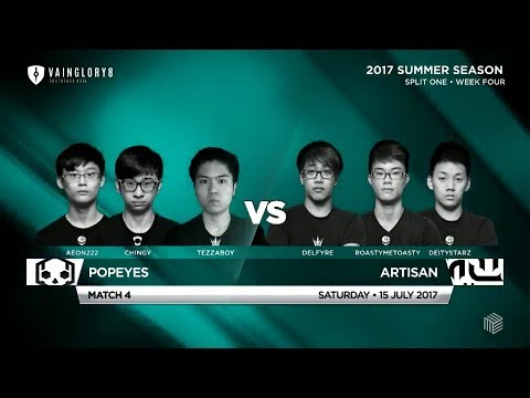 Popeyes Vs Artisan • Vainglory 8 • Southeast Asia • Summer S
