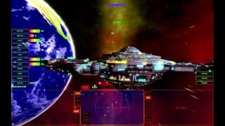Universal Combat CE: Crashing into a station!  It