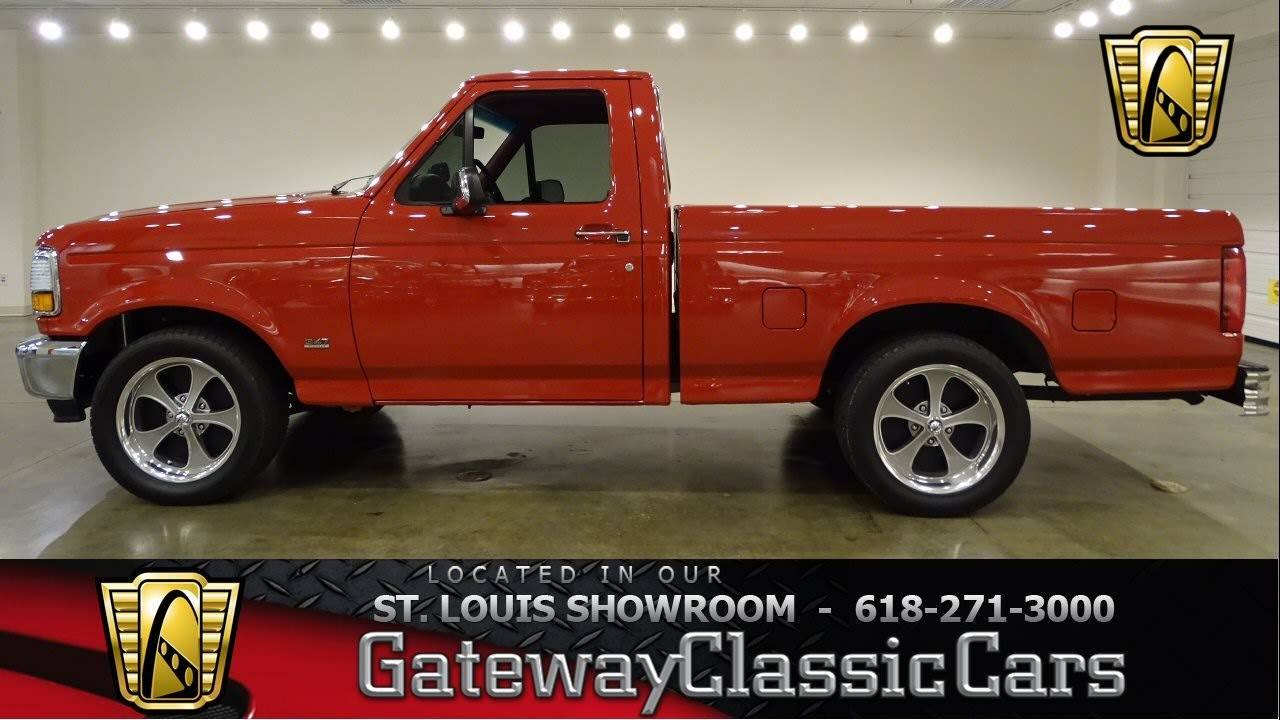 1995 ford f150 stock 7049 gateway classic cars st louis showroom youtube [ 1280 x 720 Pixel ]