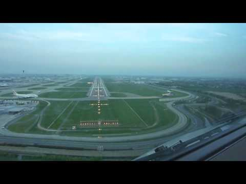 Landing London Heathrow Runway 09R