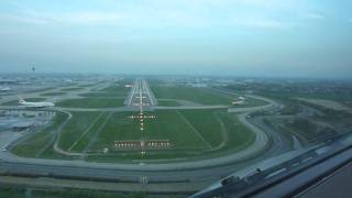 Landing London Heathrow Runway…