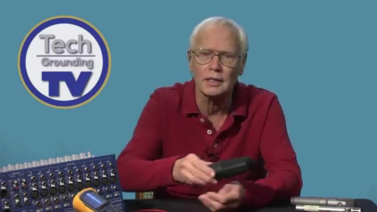 Phantom Power Basics Youtube Microphone Wiring And Circuit Diagram