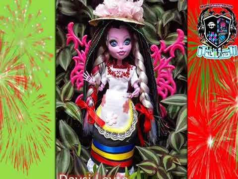 Trajes tipicos de México para tus dolls  El INSTI Monstruo Mes Patrio 7d600cbcc22