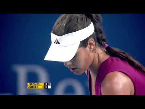 Beijing 2010 Ana Ivanovic vs Caroline Wozniacki