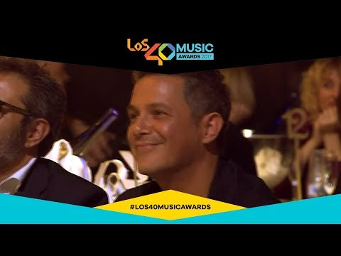 Alejandro Sanz, premio Golden Music Award 2017 | LOS40 Music Awards 2017