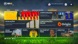 FIFA 15 - #1 - Criando Beckham e Ronaldo