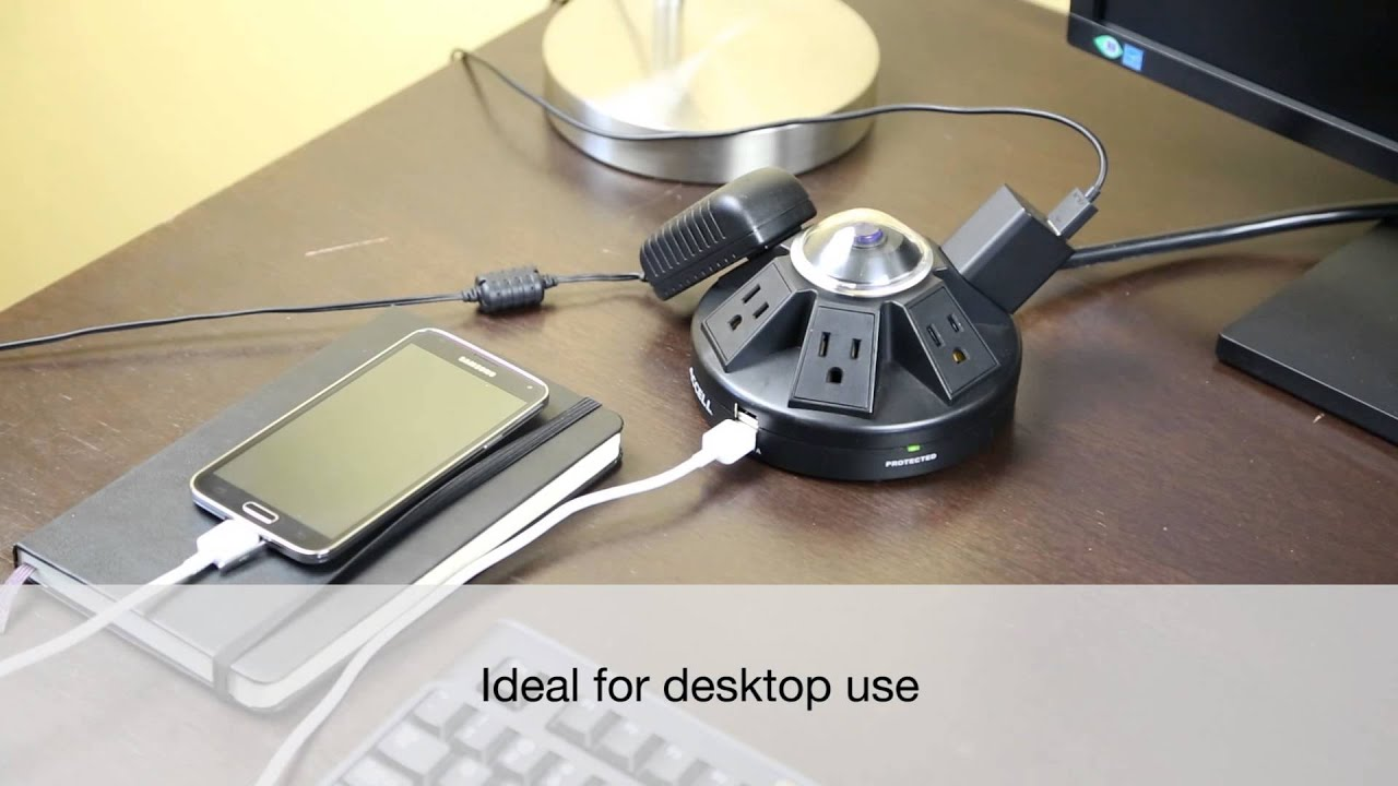 Powramid Power Center And Usb Charging Station Youtube