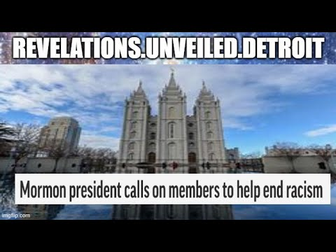 MORMON CHURCH'S Call for RACIAL RECONCILIATION.