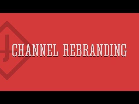 Re-Branding | Channel Art | Speed Art