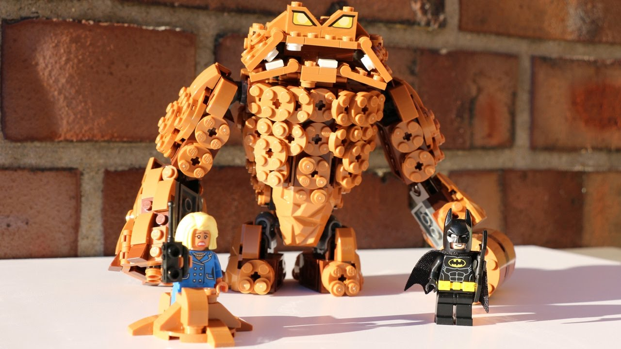 lego batman clayface instructions