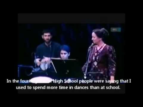 Márta Sebestyén & The Görög Ensemble @ Palace of Arts, Budapest - Interview (eng subs)