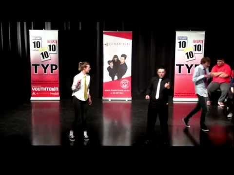 Grand Final Winners, Auckland Theatresports Youth Programme!