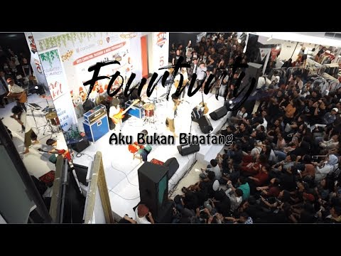 Fourtwnty - Aku Bukan Binatang (Video Lirik - Mall FX Sudirman)