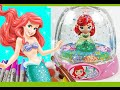 PRINCESS ARIEL GLITZI GLOBES inspired / Paint your own glitter dome