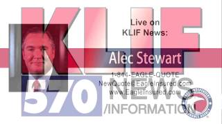 6/2/15 → Alec Stewart from Eagle Independent Insurance Agency live on News Radio