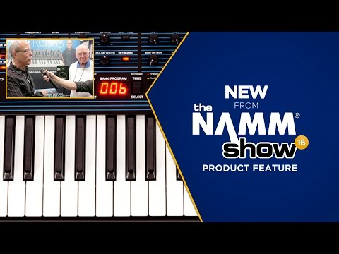 Musician's Friend New from The NAMM Show 2016 - Dave Smith Instruments OB-6 Synthesizer