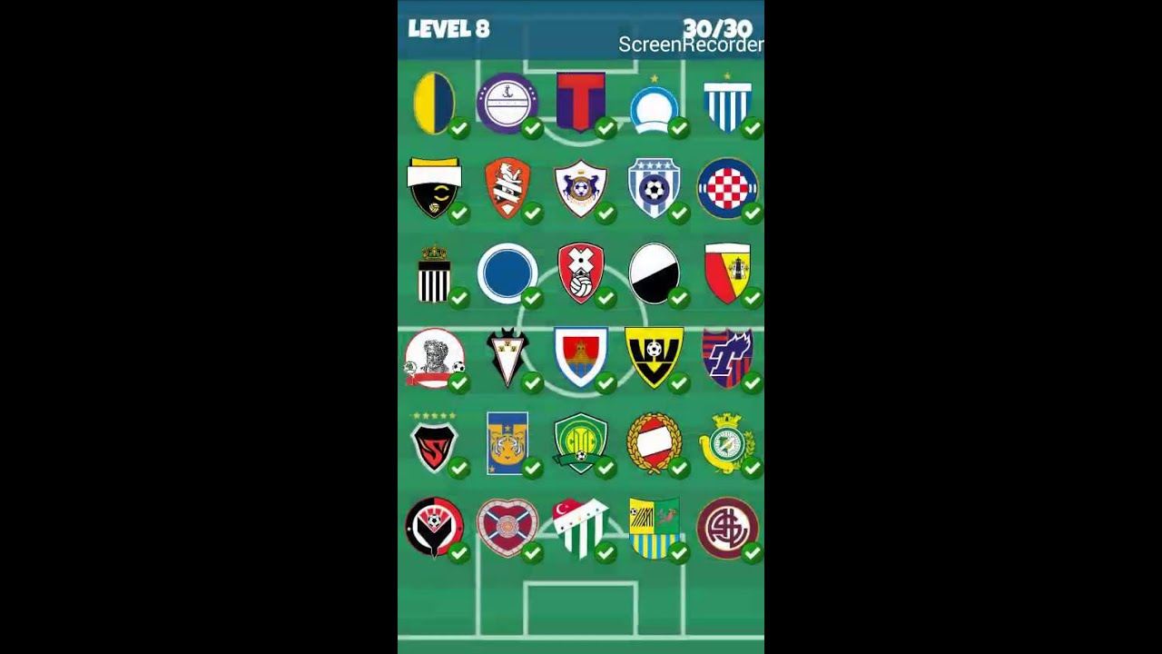 Super Football Clubs Logo Quiz - Level 8 - YouTube BL83