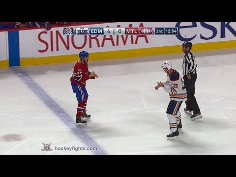 Darnell Nurse vs Andrew Shaw Dec 9, 2017