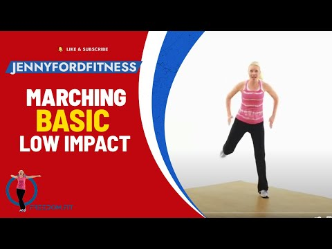Marching with Moves - Aerobic Workout - JENNY FORD