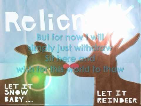 Relient K - In Like A Lion, Always Winter w/ Lyrics