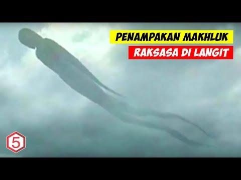 ADA DARI INDONESIA! 5 MAKHLUK RAKSASA MISTERIUS TEREKAM KAMERA !