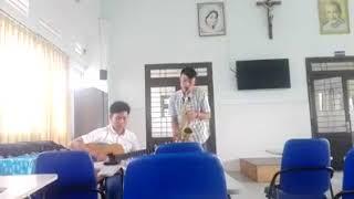 em gai mua cover           guitar saxophone             1