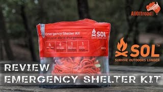 SOL Emergency Shelter Kit | QUICK REVIEW | ALLOFFROAD #111