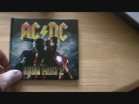 My Review Of The Iron Man 2 AC/DC Deluxe Edition Soundtrack
