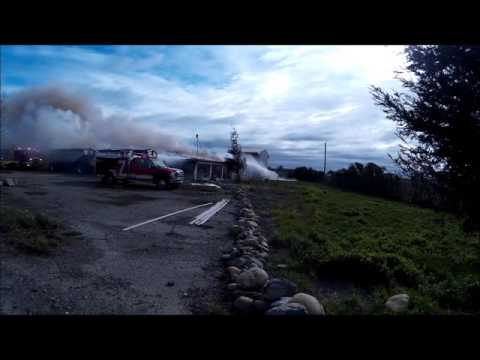 Structure Fire with Backdraft, Ammo Explosion and Radio Traffic