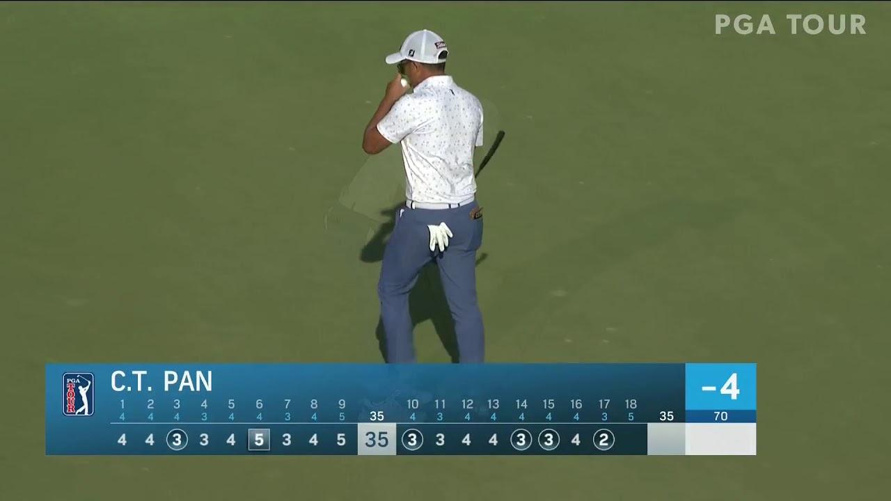 最後五洞抓下四隻小鳥🐦🐦🐦🐦 Great way to end today's round with 4 birdies in my last 5 holes! 🤙🏻 @sonyopenhawaii