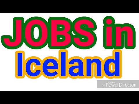 JOBS in ICELAND | LATEST JOBS for ALL NATIONALITY | JOBS TODAY