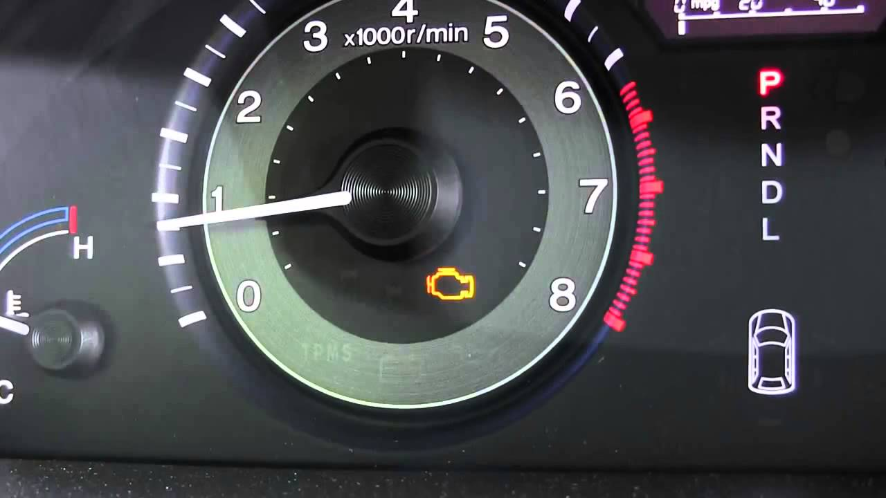 malfunction indicator lamp check engine light youtube